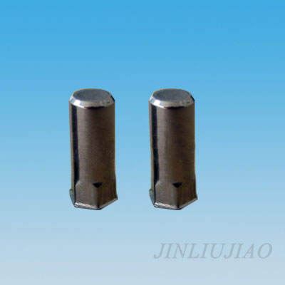 Closed end extra-small head part hexagonal body riveting nut